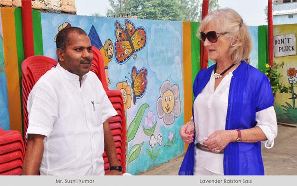 Mr Sushil Kumar and Lavender Raulston-Saul